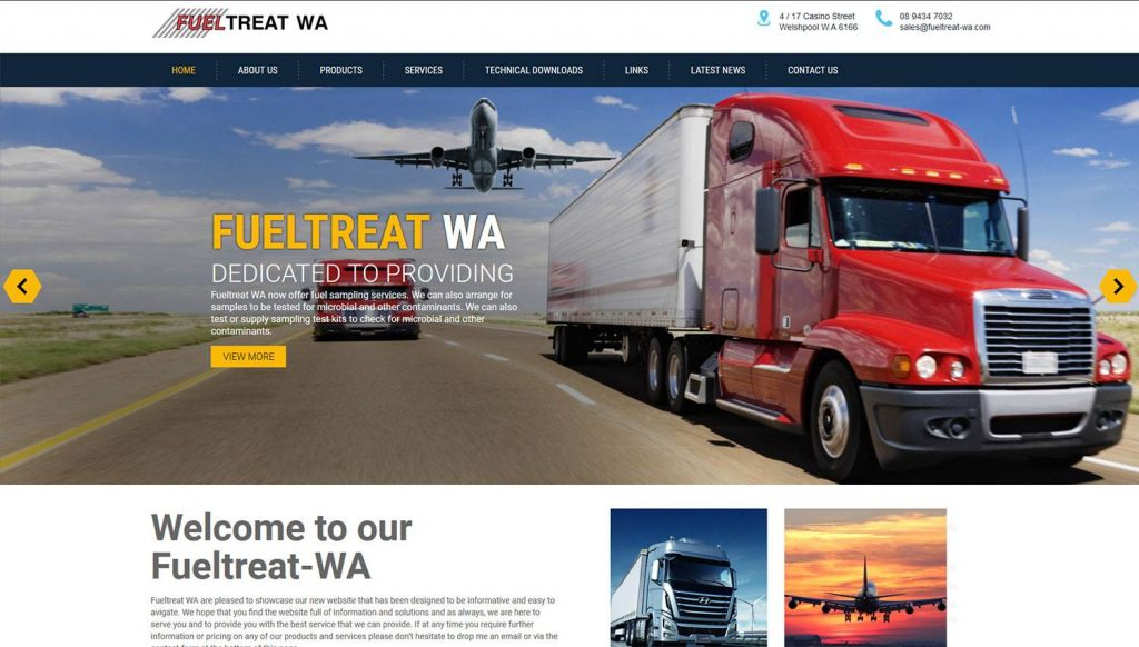 Fueltreat-Website-Design