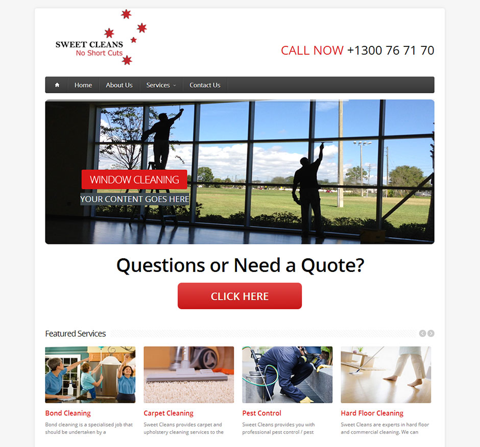cleaning-website-design